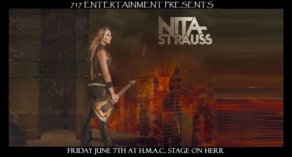 Nita Strauss with Kore Rozzik & The Kamikaze Kupcakes 6/7 – HMAC